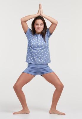 Meisjes pyjama madeliefjes...