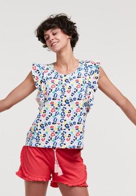 Dames pyjama gekleurde...