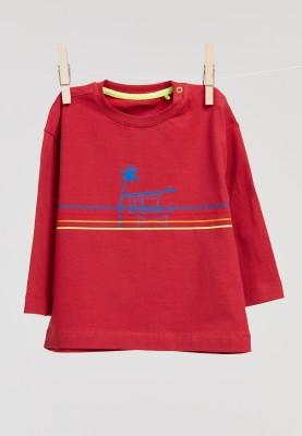 Unisex tshirt pompeian red...