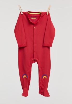 Unisex onesie pompeian red...