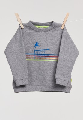 Unisex sweater grijs mlange...