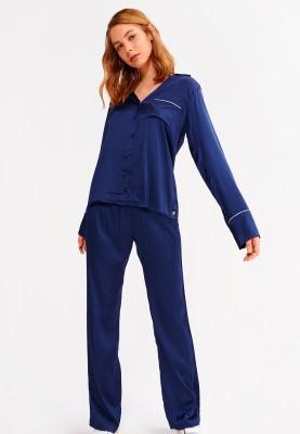 Dames pyjama medieval blue...