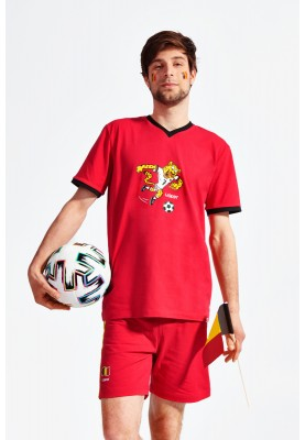 Pyjama red devil jaguar...