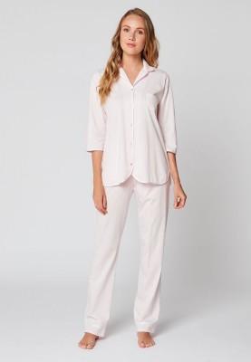 Dames pyjama katoen rose...