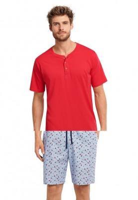 Heren pyjama short light...