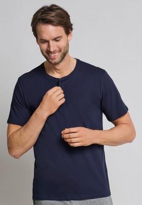 Heren tshirt met knoopjes...