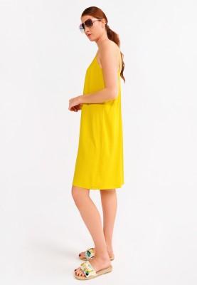 Dames kleedje geel 2115LDZW651