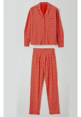 Dames pyjama rood 2115LPFZ965