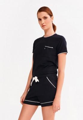 Dames tshirt zwart 9995LPSZ199