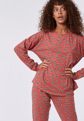 Dames pyjama roze wasbeer...