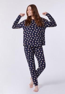 Dames pyjama dblauw...