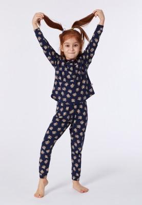 Meisjes pyjama dblauw...