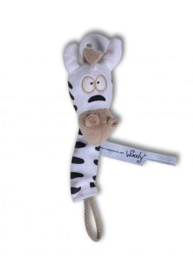 Fopspeenhouder thema Zebra...