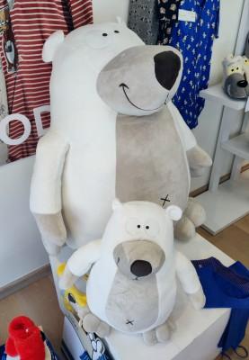 Reuzeknuffel ijsbeer...