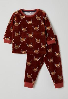 Jongens pyjama rood...