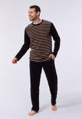 Heren pyjama velours...