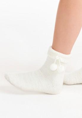 Sokken gebroken wit...