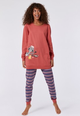 Dames pyjama roze 2121POPS437D
