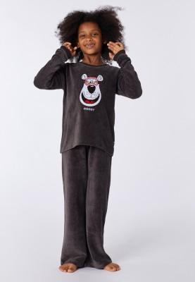 Dames velours pyjama...