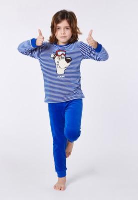Jongens pyjama blauwwit...