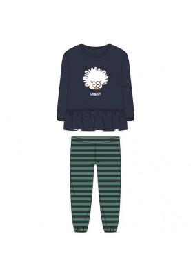 Meisjes pyjama donkerblauw...