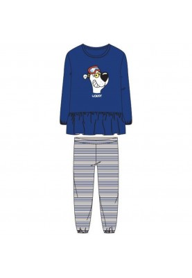 Meisjes pyjama blauw...