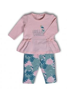 Meisjes pyjama poeder roze...