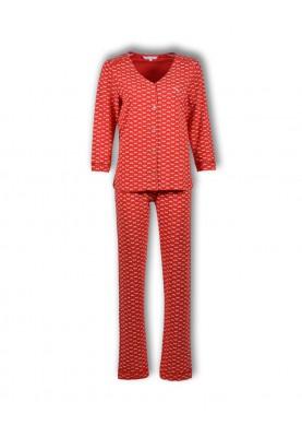 Dames pyjama vlinders rood...