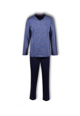 Heren pyjama blauw roest...