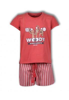 Meisjes pyjama burgundy...