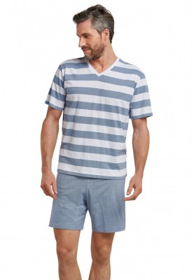 Heren pyjama indigo blue...