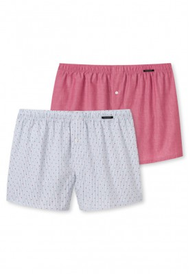 Heren boxershorts 2pack red...