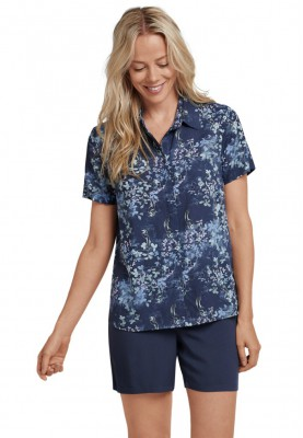 Dames pyjama dark blue   K...