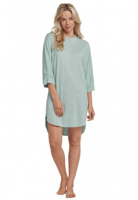 Dames slaapkleed mint green...