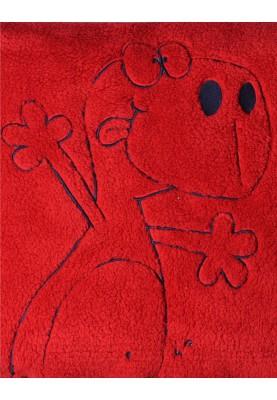 Plaid donkerrood 1821PLAM481