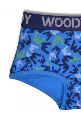 Meisjes short blauw W...