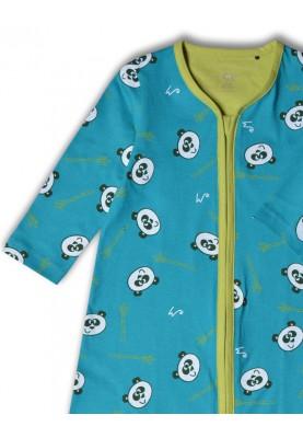 Unisex slaapzak groen panda...