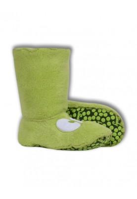 Unisex pantoffels limegroen...