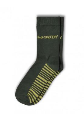 Unisex sokken donkergroen...
