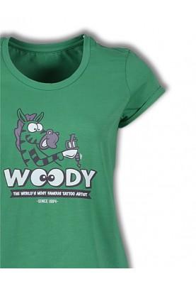 Dames pyjama groen...