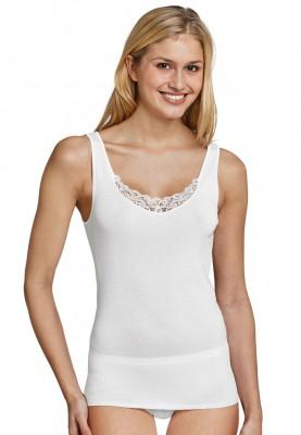 Dames hemd kant wit 144361100