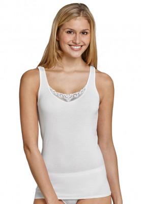Dames hemd kant wit 144367100
