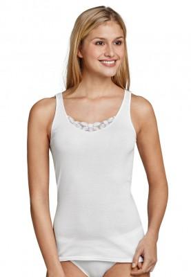 Dames hemd kant wit 144365100