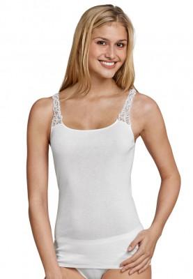 Dames hemd kant wit 144362100