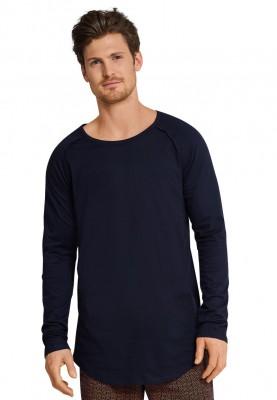 Heren pyjama dark blue gris...