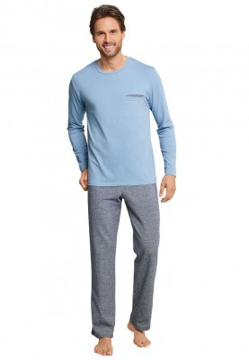 Heren pyjama liight blue...