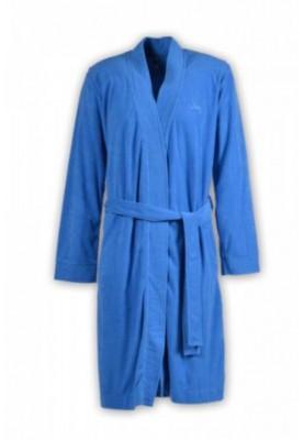 Heren badjas blauw 1811DSMB851