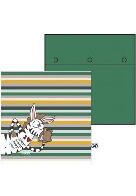 Kussensloop Zebra gestreept...
