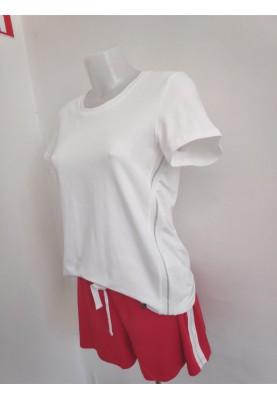 Dames tshirt gebroken wit...
