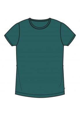 Unisex tshirt donkergroen...